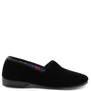 Euroflex Koala Black Womens Slipper