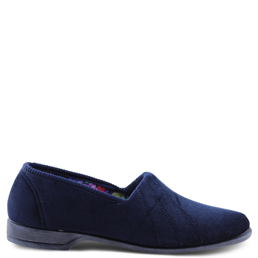 Euroflex Koala Navy Womens Slipper