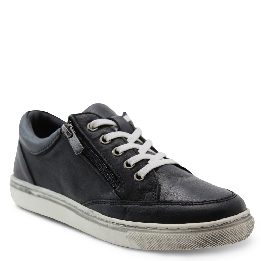 Sala Ronnie Womens Black Sneaker