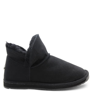 Emu Mintaro Black Unisex Slipper