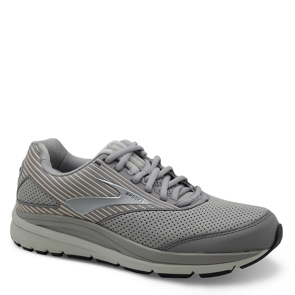 Brooks Addiction Suede Walker Womens Alloy Runner