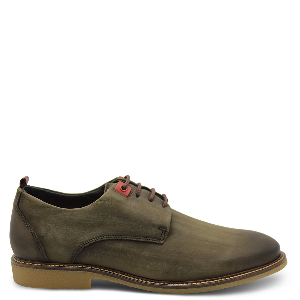 Ferracini Opale Taupe Lace up mens