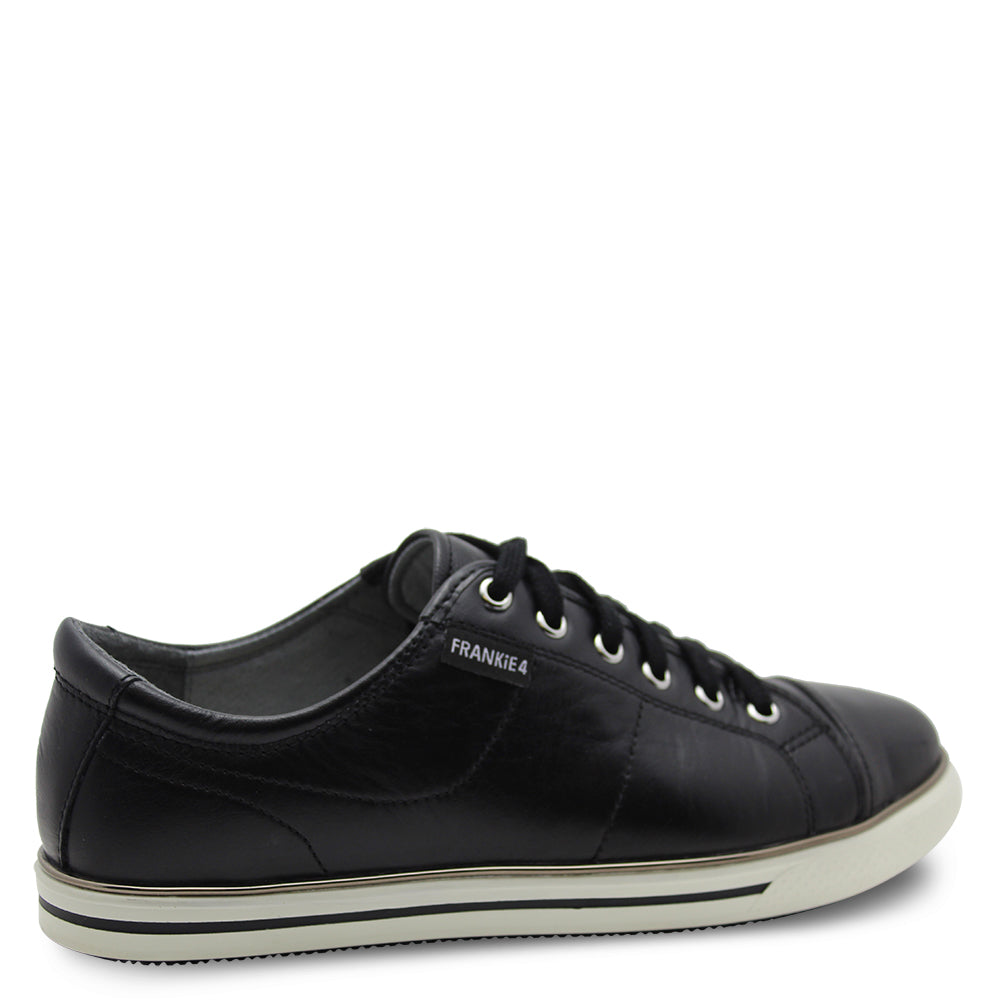 Frankie4 Nat Black/White Womens Sneaker