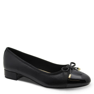 Hush Puppie Divine Black Womens Heel