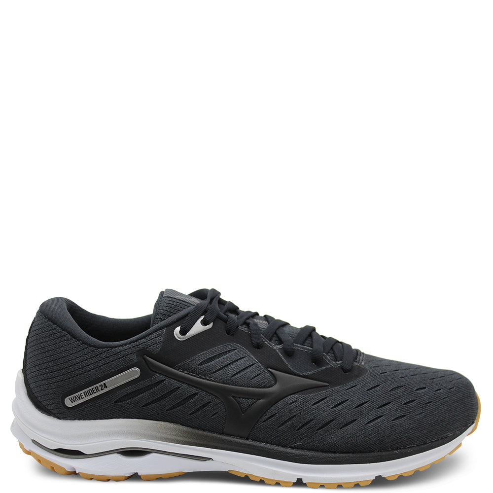 Mizuno Wave Rider Black Mens Runner