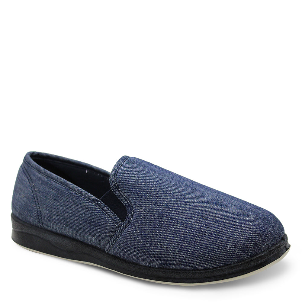 Panda eden Mens Slipper in denim