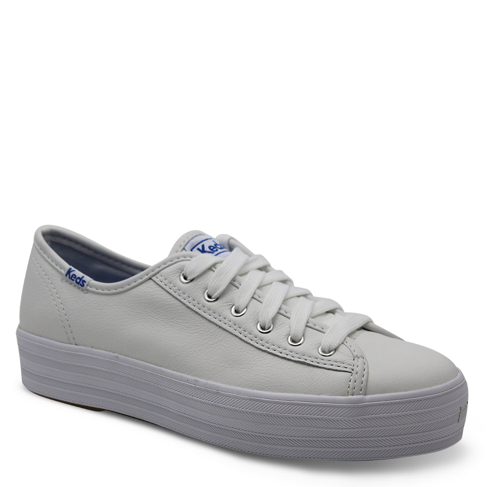 Keds Triple Kick Womens White Sneaker