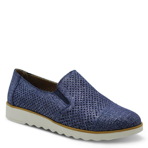 CC Resorts Andrea Denim Print Womens Slip On
