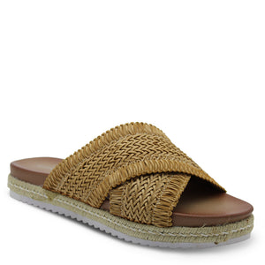 Los Cabos Tinny  Womens tan Slide