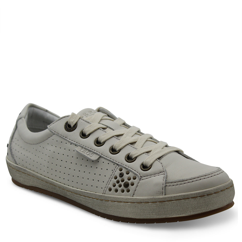 Taos Freedom White Womens Sneaker