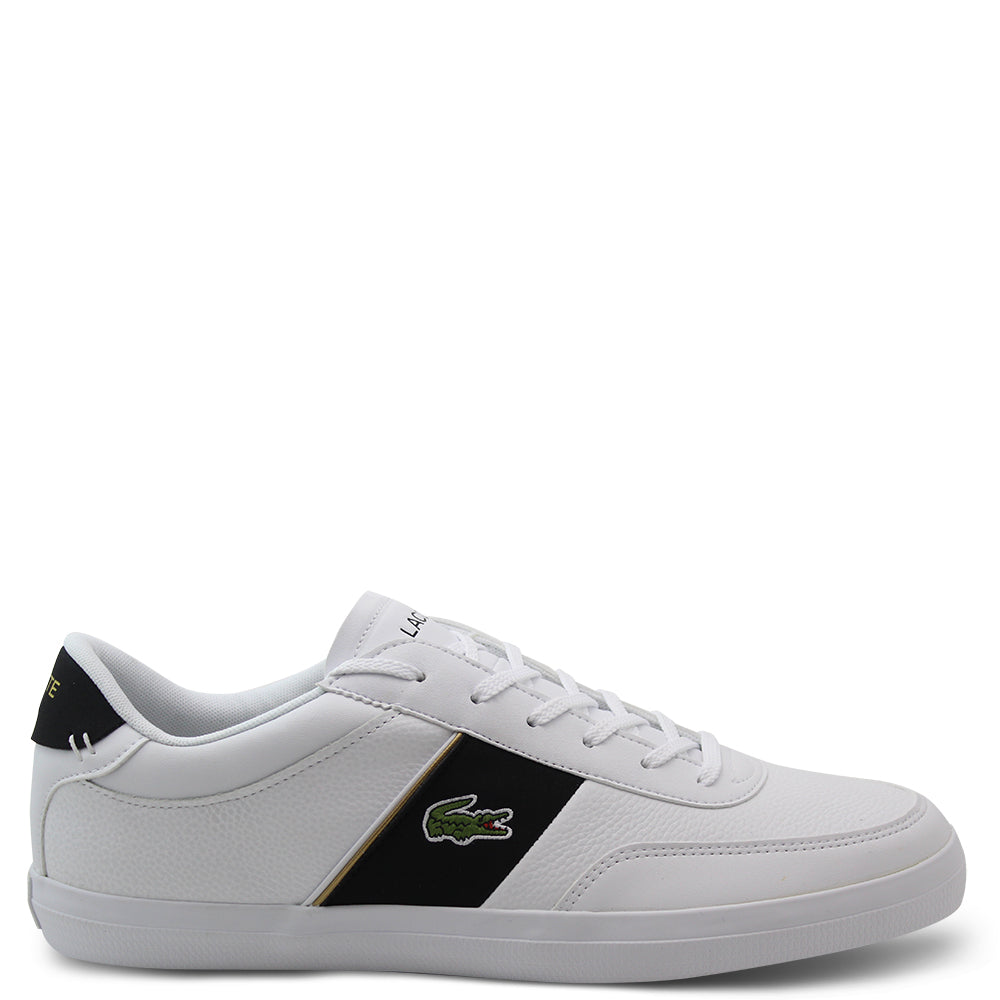 Lacoste Court Master White/Black Mens Sneaker