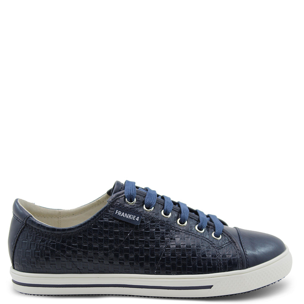 Frankie4 Nat Weave Women's Podiatrist approved Sneakers Navy