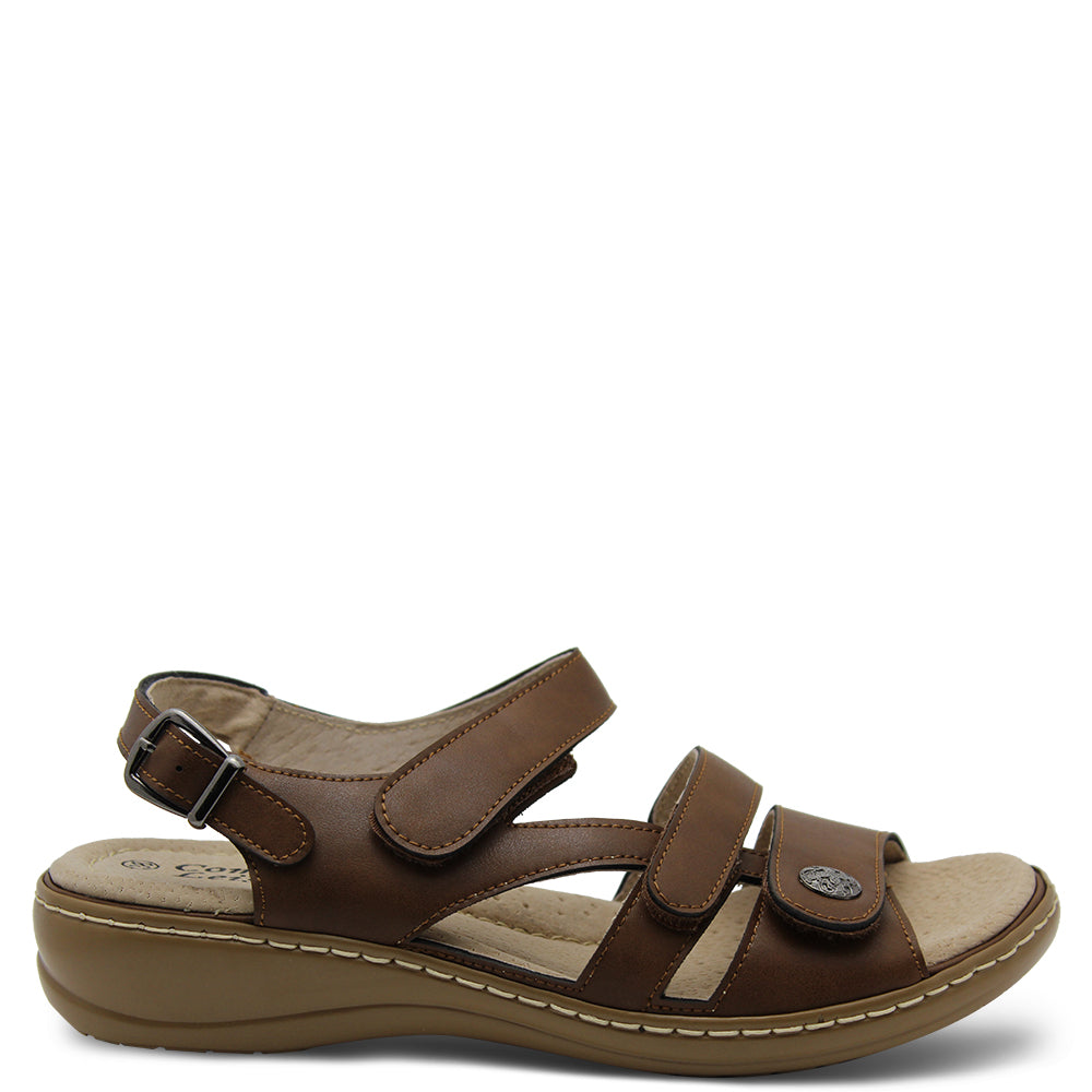 Comfort Leisure Nyx Brown Womens Sandal