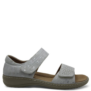 Comfort leisure Pepper Silver Womens Sandal