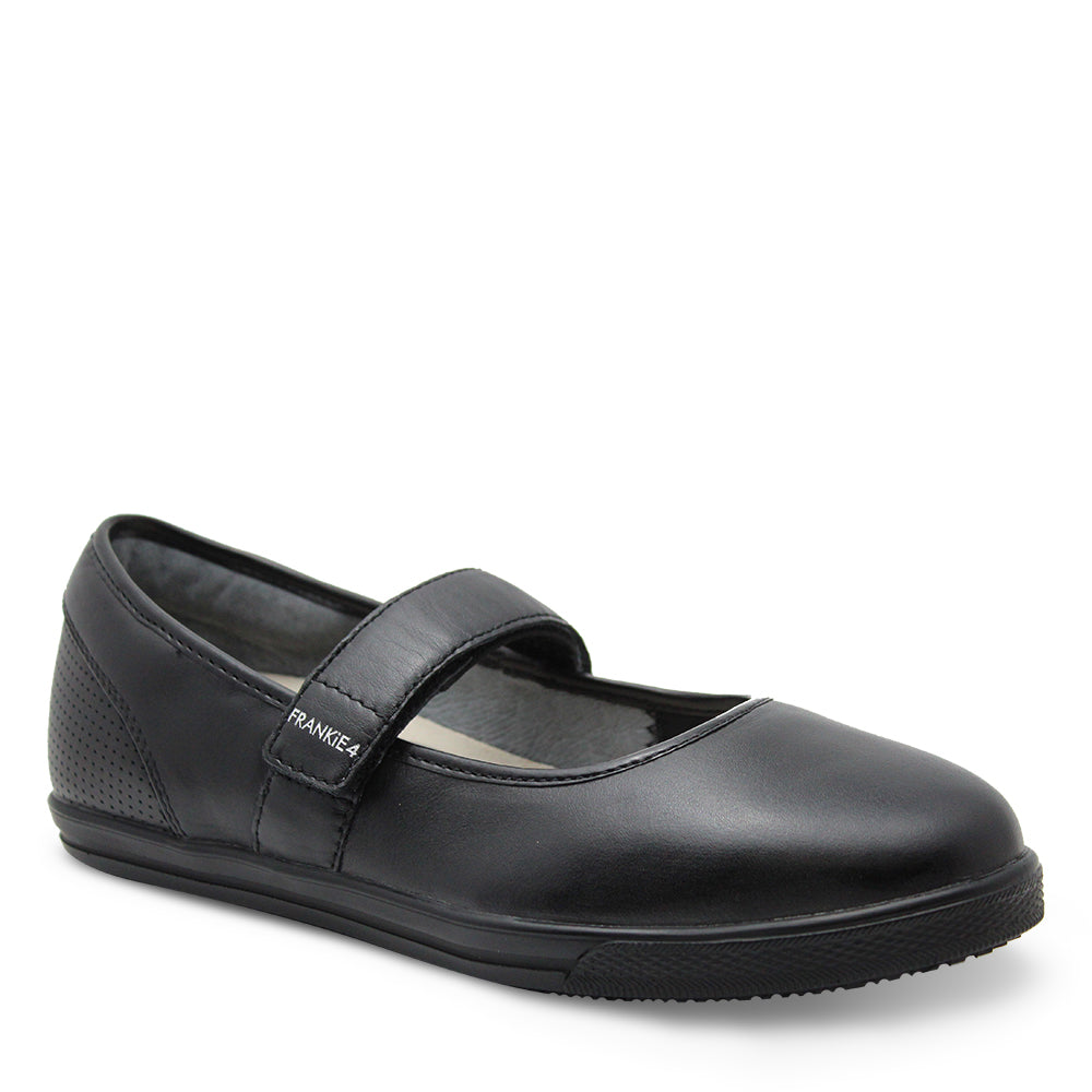 Frankie4 Addie Womens Black Flat Casual