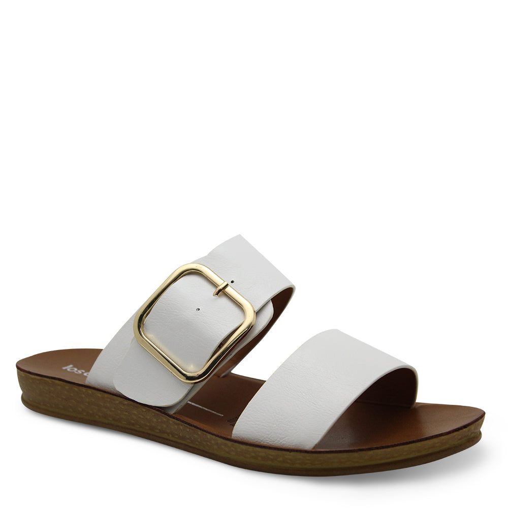 Los Cabos Doti White Womens Slide