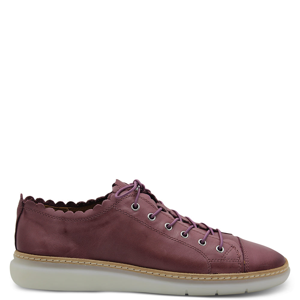 Effegie Frilled Mulberry Womens Sneaker