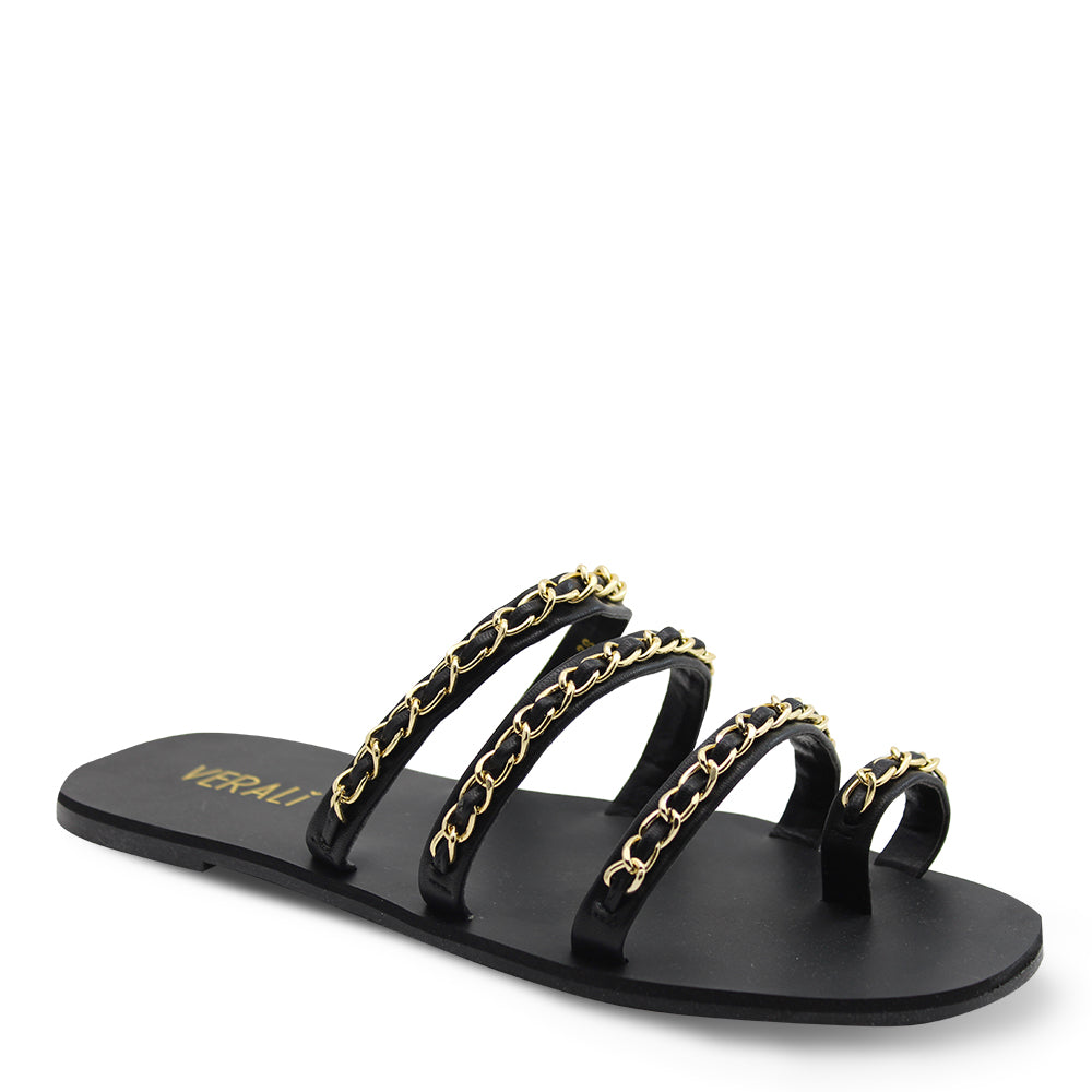 Verali Cindy Black Womens Sandal