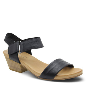 Top End Chrisie Black Womens Sandal