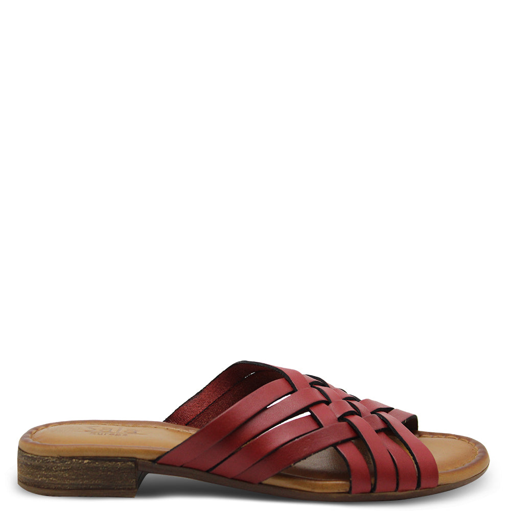 Sala Airley Red Womens Slide