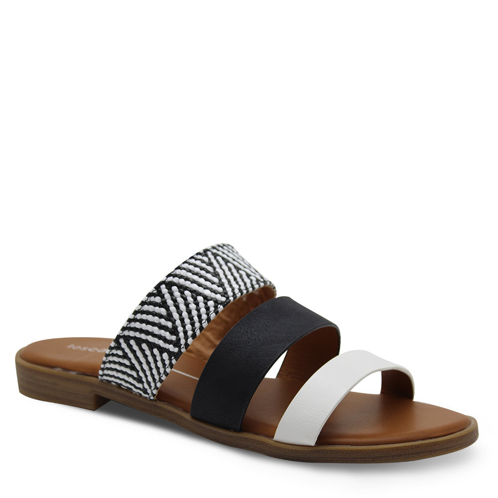 Los Cabos Kara White/Multi Womens Slide