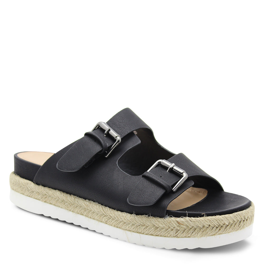 Verali Denmark Womens Black Flat Slide