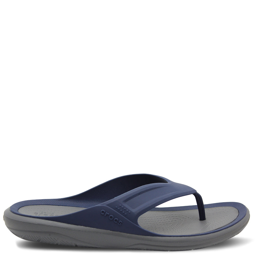 Crocs Swiftwater Wave Navy Men's Thong
