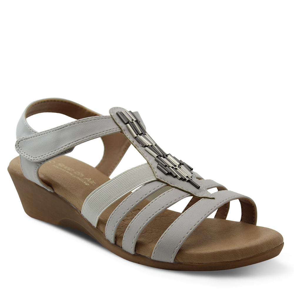 Step On Air Gell Stone Womens Sandal