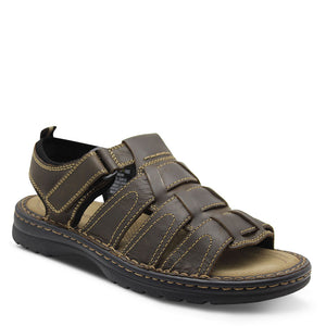 Colorado Hook Men's Brown Leather Sandal