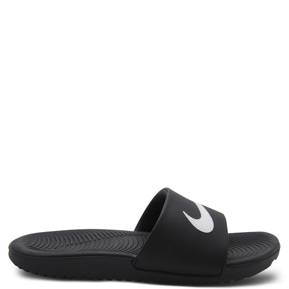 Nike Kawa Kids Black Slide
