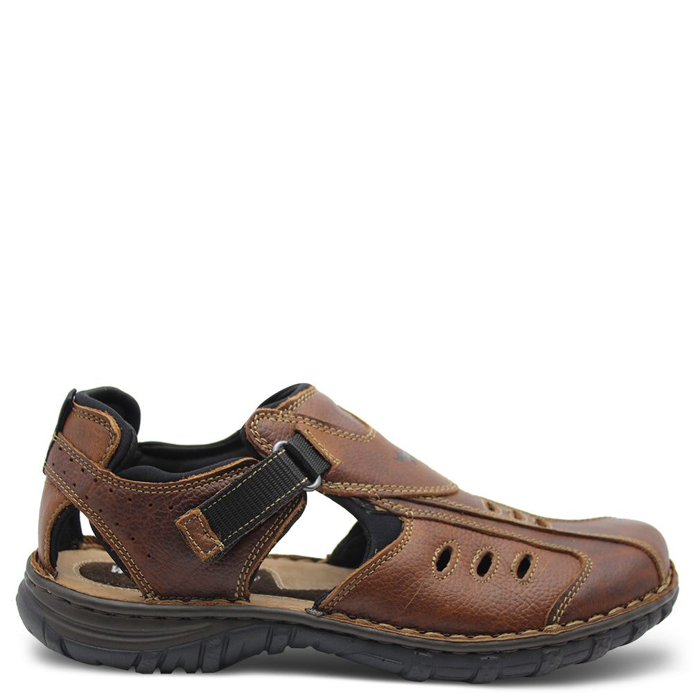 Wild Rhino Pillar Brown men's Sandal