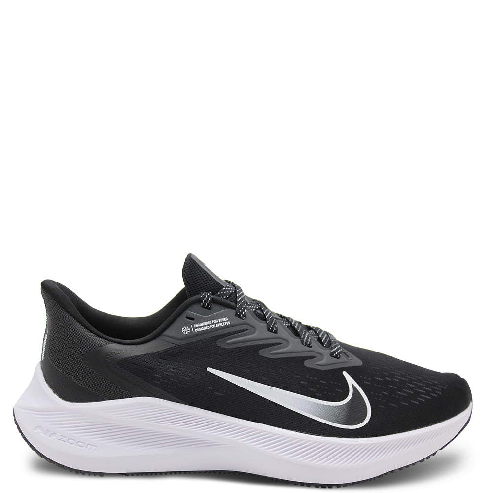 Nike Zoom Winflo 7 Black/White Mens Running
