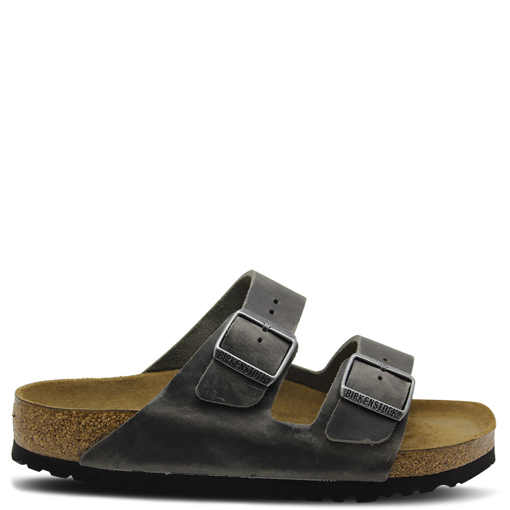 Birkenstock Arizona SFB Ironstone Leather Sandal
