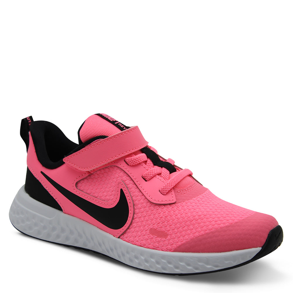 Nike Revolution 5 PS Pink/Black Runner