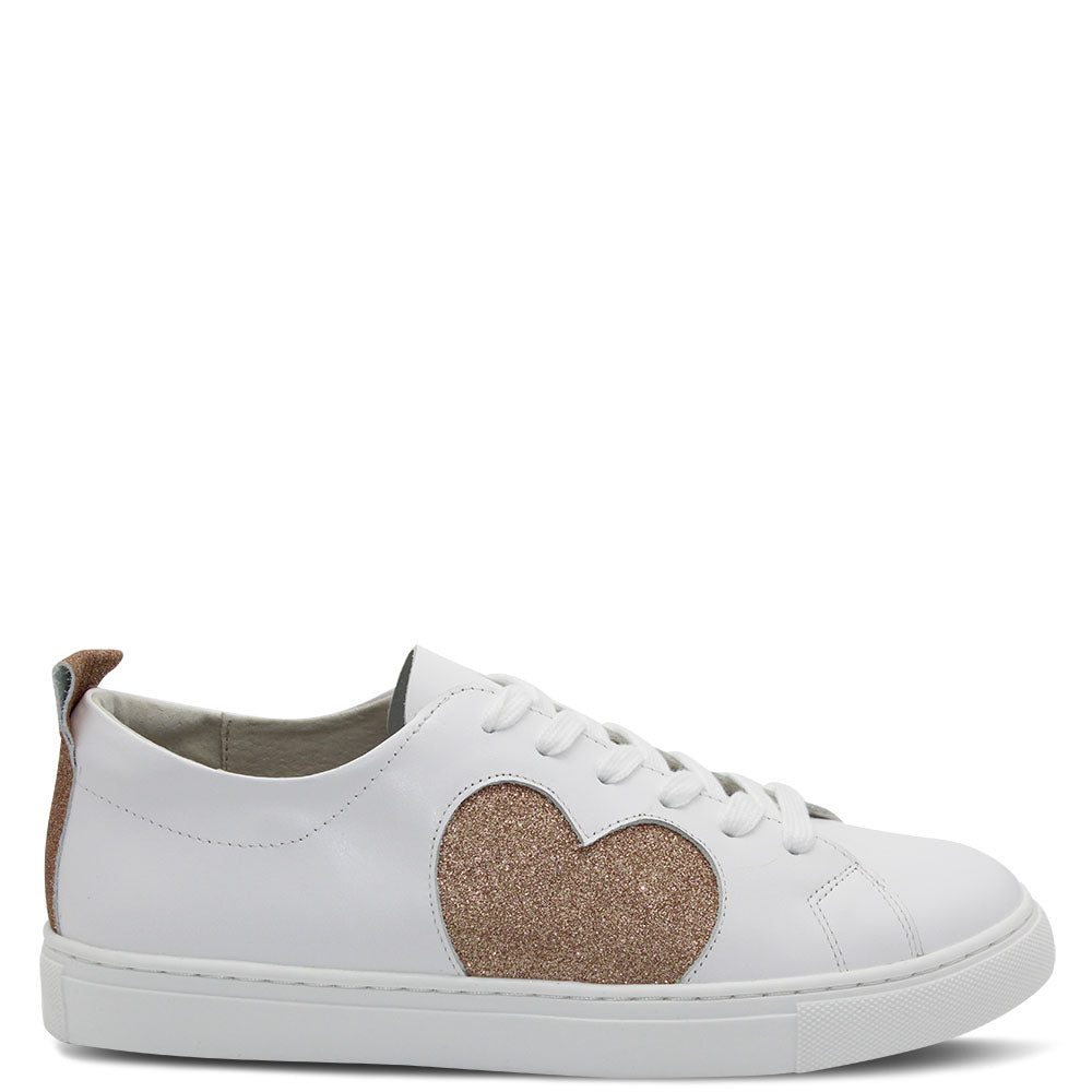 Walnut Hearts 20 Women's Rose Glitter Sneaker
