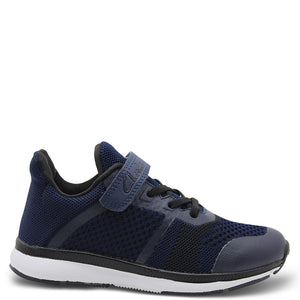Clarks Leon Kids Navy Runner