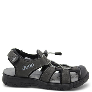 Jeep Terrain Charcoal Kids sandal