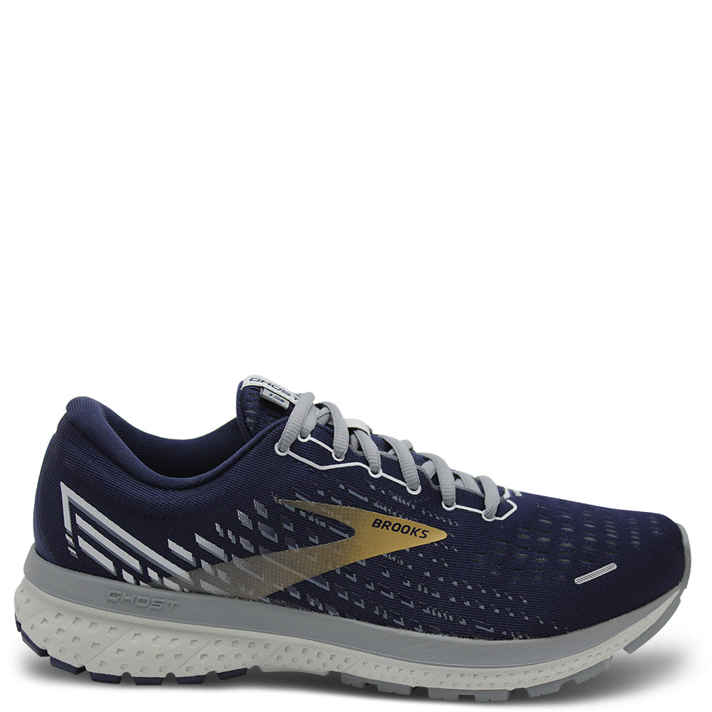 Brooks Ghost 13 Mens Navy/Gold Jogger