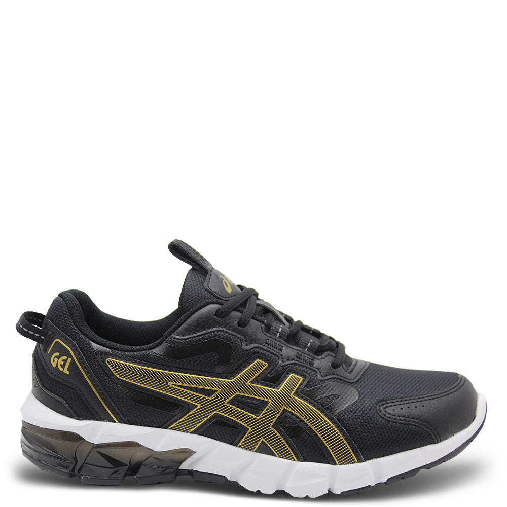 Asics Gel Quantum 90 GS Black/Gold Kids Runner