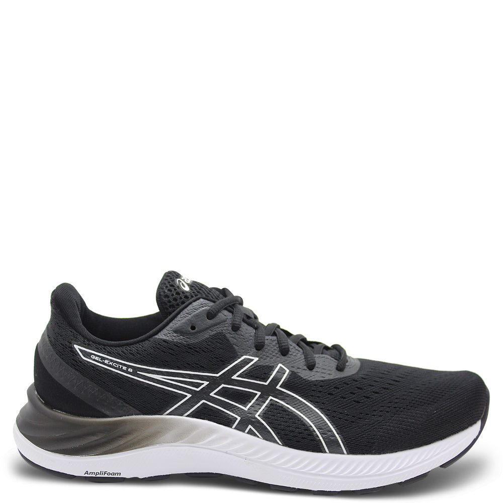 Asics Gel Excite 8 Men's Black/White Runner