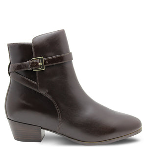 Frankie4 Isabelle Womens heel boot Chocolate