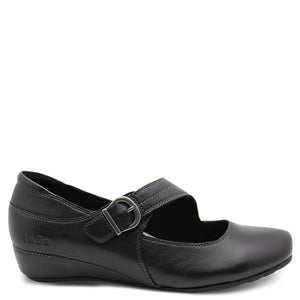 Taos Option Black Womens Wedge