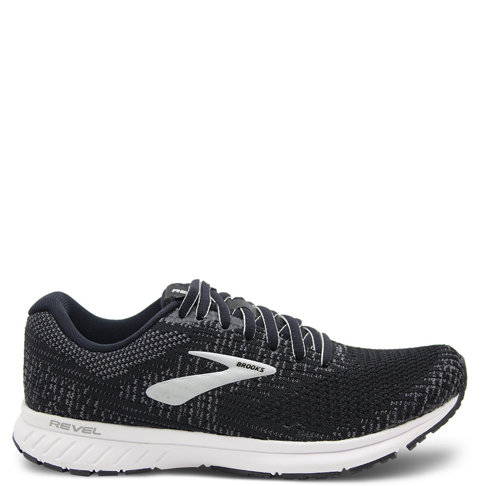 Brooks Revel 3 Black Womens Runner