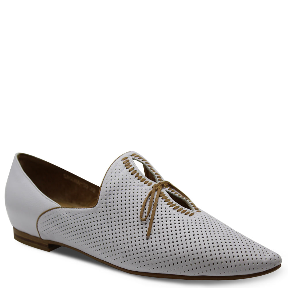 Top End Sagona White/tan Flat