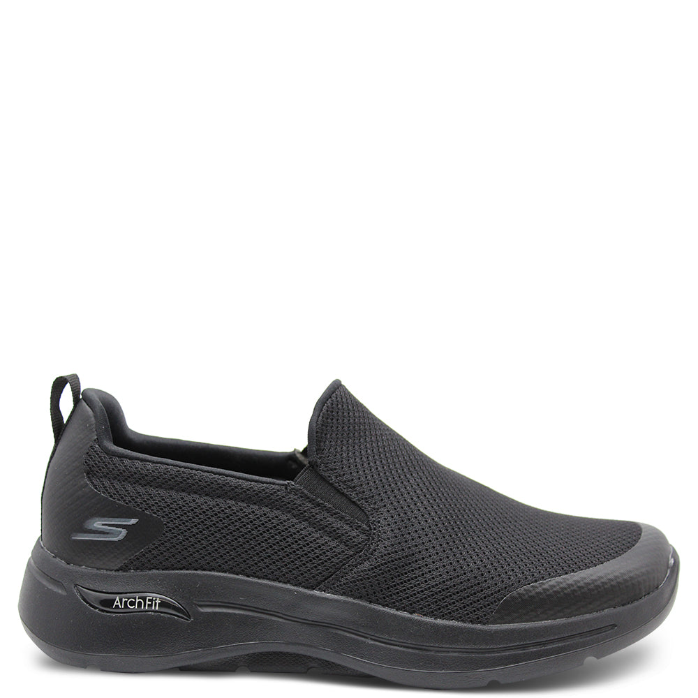 Skechers Togpath Mens Slip On Sneaker Black