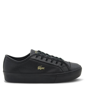 Lacoste Ziane plus grand womens Black sneaker