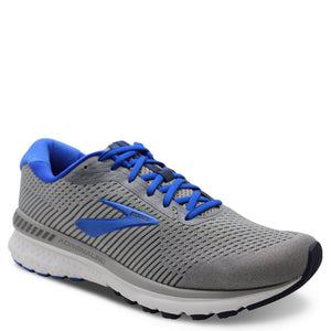 Brooks Adrenaline GTS 20 Mens Grey/Blue Runner