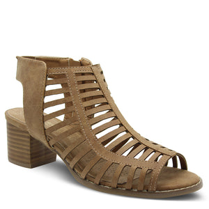 Step On Air Ages Tan Heel Sandal