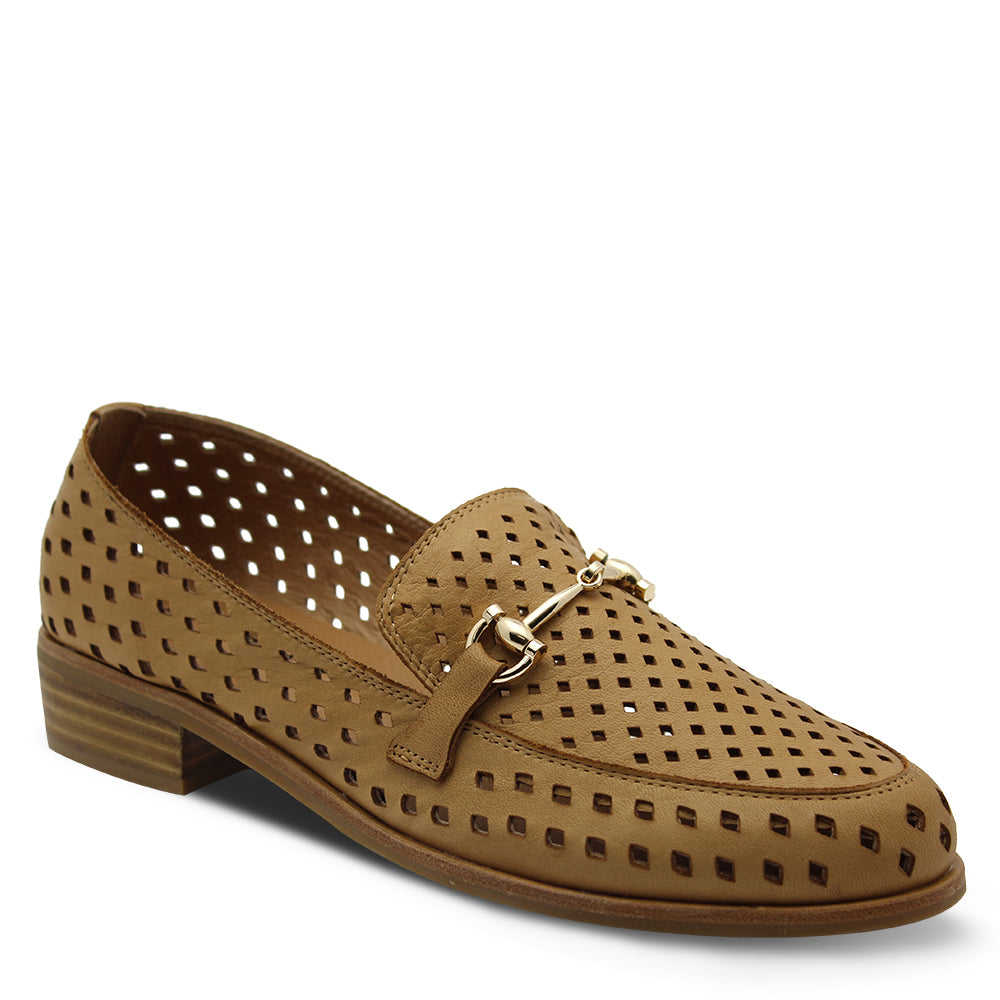 Bresley Alcane Tan Women's Loafer