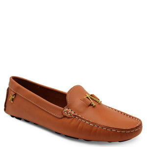 Andacco Alice Orange Womens Moccasin